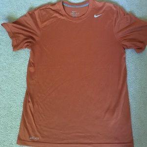 Orange Nike Workout Shirt